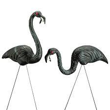 flamingo lawn ornaments