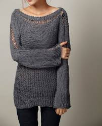 knit oversized sweater reserve fot milohaigh knit sweater eco cotton