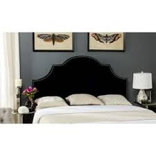 size queen black headboards for less overstock com