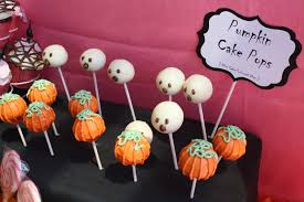 Halloween Themed Cake Pops by Little Big Company The Blog Halloween Themed Baby Shower By Jayne