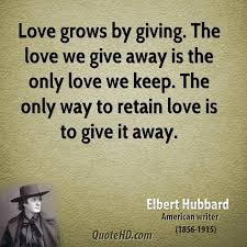 giving quotes captivating elbert hubbard quotes quotehd