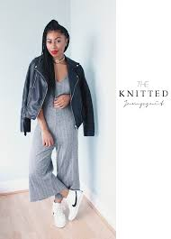 denim jumpsuit zara lavinya royes fashion and lifestyle the zara knitted jumpsuit