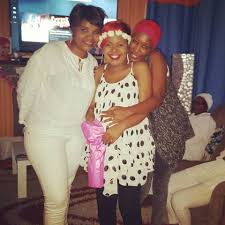 size 8 hosts all white themed baby shower party photos