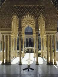 Moorish Architecture Moorish Architecture Of The Court Of The Lions The Alhambra