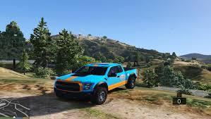 gulf racing truck galpin 2016 gulf f 150 gta5 mods com