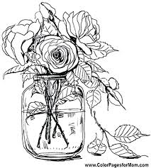 Free Printable Realistic Flower Coloring Pages Beautiful Design Of Mandala Flowers Coloring Pages