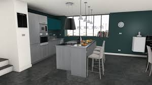 cuisine ideale bespoke naturally modern kitchen ideal kitchen colourful island