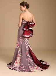 contemporary wedding dresses kimono wedding dress line features gowns made from antique kimonos