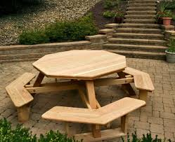 Picnic Table With Benches Plans Table Picnic Table To Bench Seat Amazing Picnic Table Designs