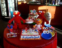 the jackson 4 sesame street birthday party decorations