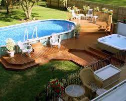 126 best above ground pool decks images on pinterest backyard