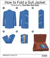 How to fold a suit jacket 3 ways to pack sports jackets suits