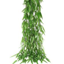 greenery garland hogado 50pcs 375 artificial vine greenery garland silk willow rattan