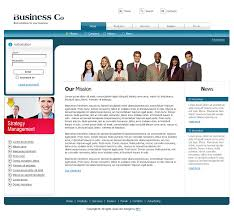 free business template business website template free business