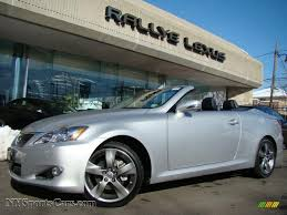 lexus cars convertible 2010 lexus is 250c convertible in tungsten silver pearl 514237