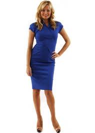 mcberry blue pencil dress buy mcberry dresses designer desirables