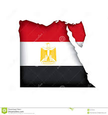 Flag Egypt Map Flag Egypt Vector Stock Vector Image Of Scalable 5070510