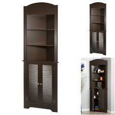 Corner Cabinet For Bathroom Corner Storage Cabinet Ebay
