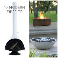 Modern Firepits 10 Of The Best Modern Firepits Babble