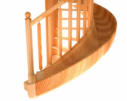 Spiral Staircase by 3d Wooden Spiral Staircase Cgtrader