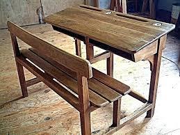 bureau ancien bureau ancien en bois bureau ancien en bois bureau ecolier en bois