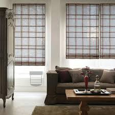 Printed Fabric Roman Shades - awesome plaid roman shades and roman shades scalisi architects