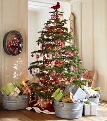 20 rustic christmas tree decor for your home 4462