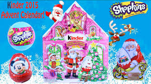 2015 kinder advent calendar christmas kinder surprise eggs
