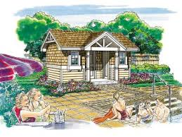 home plans with pool pool house plans and cabana plans the garage plan shop