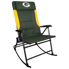 Elite Folding Rocking Chair by Green Bay Packers Large Rocker Chair At The Packers Pro Shop