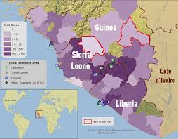 west africa map ebola ebola responding to ebola