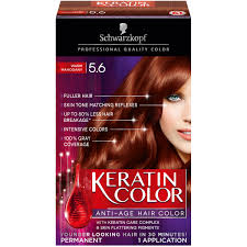 schwarzkopf keratin anti age hair color warm mahogany 5 6 2 03