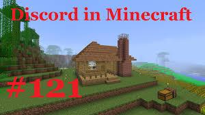 discord in minecraft episode 121 building a farmhouse youtube
