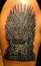 Chair Game Of Thrones 34 Best Game Of Thrones Tribute Tattoos Tattooblend