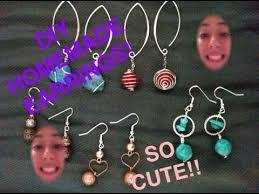 home made earrings diy earrings tutorial