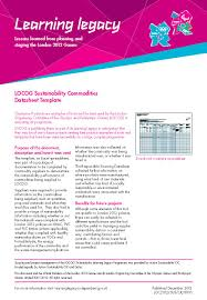 template sustainability policy template
