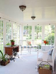 sunroom decor ideas sunroom lighting simple but elegant design