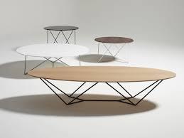 Wohnzimmertisch Metall Holz Moderner Couchtisch Holz Metall Oval Stem By Jonathan