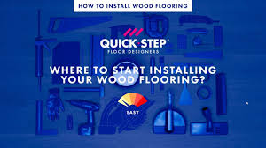 Where To Start Laying Laminate Flooring In A Room Where To Start Installing Your Wood Flooring Tutorial By Quick