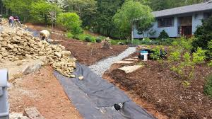 How To Regrade A Backyard Drainage U2013 Grading U2013 Flooded Yard And Erosion Solutions