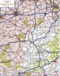 Salem Virginia Map by Virginia Road Map