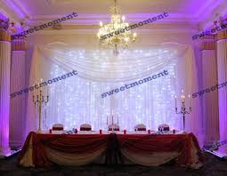 wedding backdrop led led curtain wedding backdrop decorate the house with beautiful