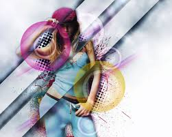 tutorial design photoshop design a stylish poster mixed with displacement effect in photoshop