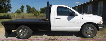 2005 dodge ram 3500 flatbed pickup truck item cd9393 sol