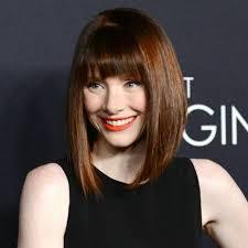 20 medium length haircuts with bangs