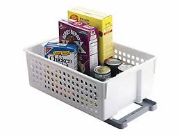 Rubbermaid Kitchen Cabinet Organizers by Slide U0027n Stack Sliding Baskets Rubbermaid