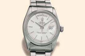 more precious than gold the rolex day date ref 6611 in steel