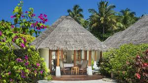 luxury water bungalows sheraton maldives resort
