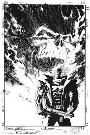 Bill Sienkiewicz Stray Toasters Attack At Don Bill Sienkiewicz Inking
