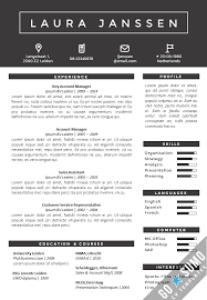 Editable Resume Template Resume Template In Word And Powerpoint Matching Cover Letter